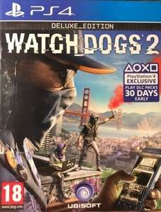 Watch Dogs 2 Deluxe Edition (PS4) for £6.99 @ Amazon (+£4.49 non-Prime)