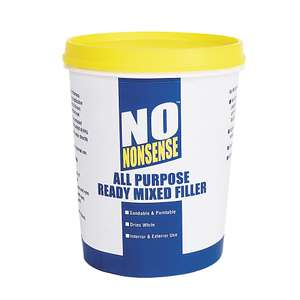 No Nonsense All-Purpose Ready-Mixed Filler White 1kg for £1.29 @ Screwfix (free c&c)