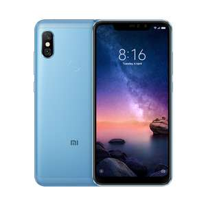 From Friday 12-4pm - Xiaomi Redmi Note 6 Pro 32GB Smartphone £104 (First Time app Users) £109 Website @ Xiaomi UK