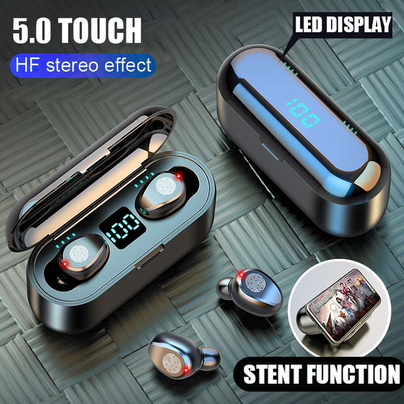 H&A Bluetooth V5.0 Earphone Wireless Earphones Stereo Sport Wireless Headphones Earbuds £11.17  AliExpress H&A Speciality Accessories