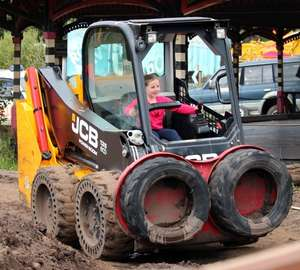Diggerland: Family of 4 for just £48 at Durham, Yorkshire, Kent or Devon with Planet Offers