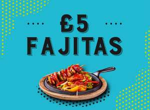 £5 Fajitas @ Chiquitos (With app or Voucher)