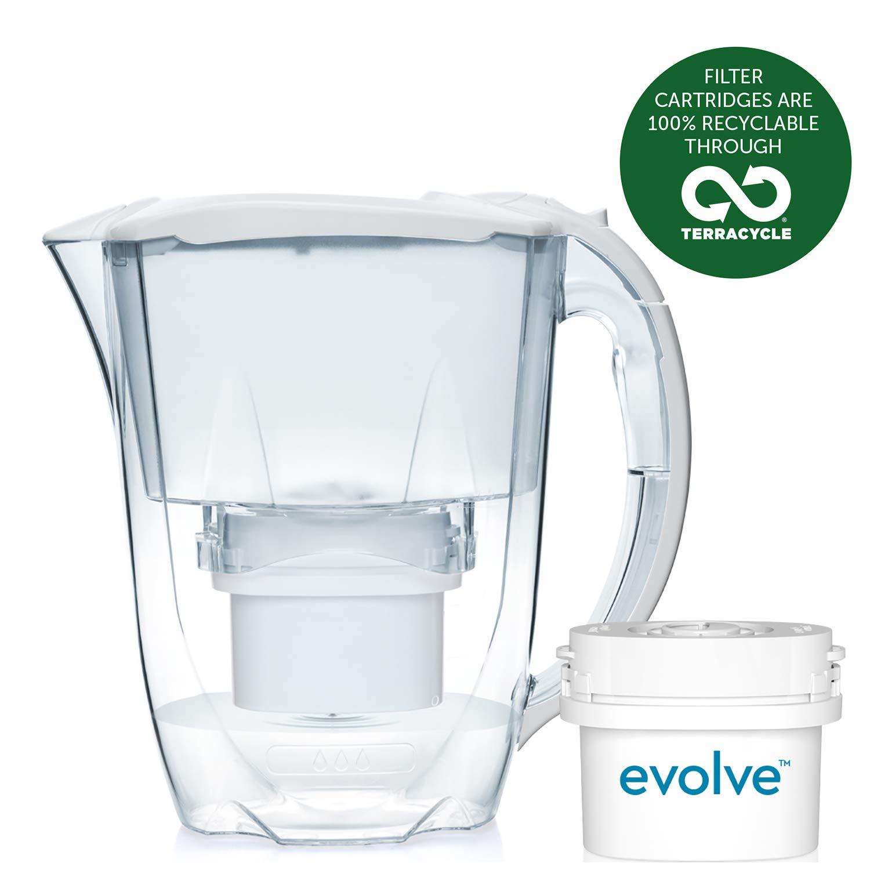 Aqua Optima Oria Filter Jug with 1 x 30 Day Evolve filter - 1 Month Pack - White £6.78 (+£4.49 Non Prime) @ Amazon