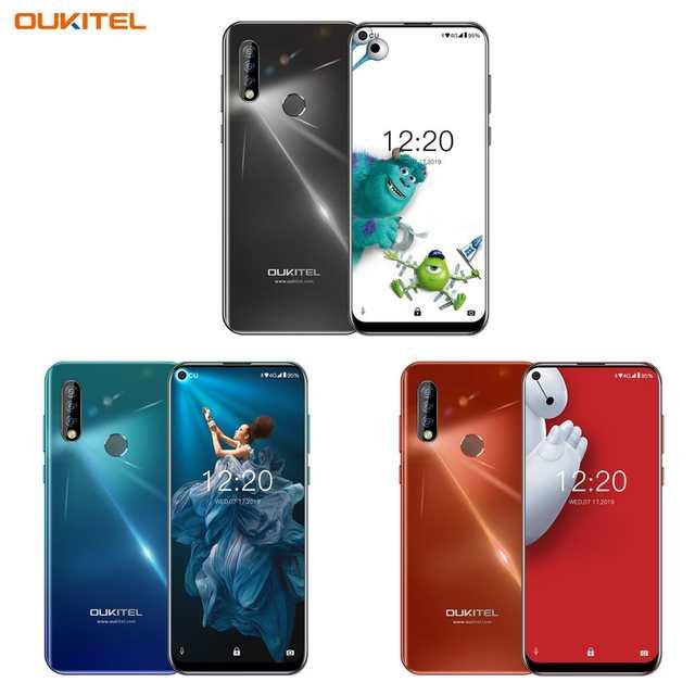 "Oukitel C17 Pro in Black/Twilight/Orange - 6.35"" Punch hole Screen, 4GB RAM, 64GB Storage  £83.45 @ OUKITEL Official Store Ali Express"