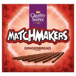 Quality Street Gingerbread / Maple & Pecan / Caramel / Orange / Mint Matchmakers 120G £0.75 @ Tesco