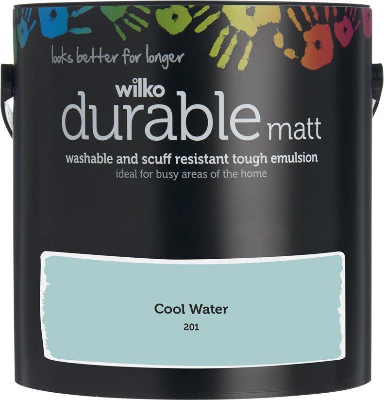 Wilko Durable Paint 72 Colours Matt £9 @ Wilko (+ £2 Click & Collect)