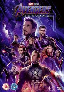 Avengers Endgame on DVD - £6 @ Morrison's when you spend £40