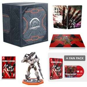 Daemon X Machina Orbital Edition with fan pack, back in stock, Nintendo Switch - £89.99 @ Nintendo Store