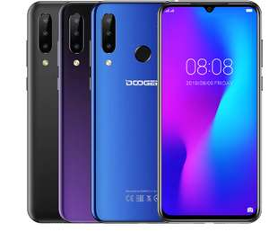DOOGEE N20 Mobilephone Fingerprint 6.3inch FHD+ Display 16MP Triple Back Camera 64GB 4GB MT6763 - £84.21 @ Ali Express / Doogee Store
