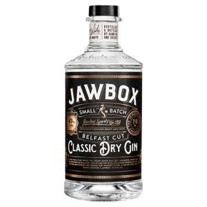 Jawbox Belfast Cut Classic Dry Gin 70cl £15.90 instore at Tesco Beaumont Leys, Leicester