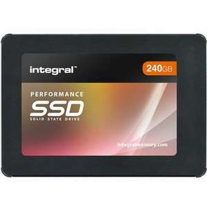 Integral 240GB P Series 5 SATA III SSD Hard Drive up to 560MB/s R and 540MB/s Write Speed, for £22.99 Delivered @ Ebay/Mymemory