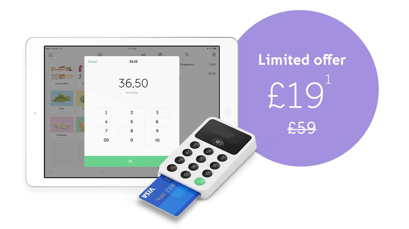 iZettle 2 Card Reader £22.80 @ iZettle