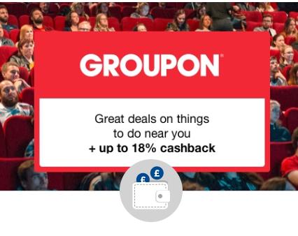 Groupon get  a £10 cashback bonus when you spend £20 @ Quidco