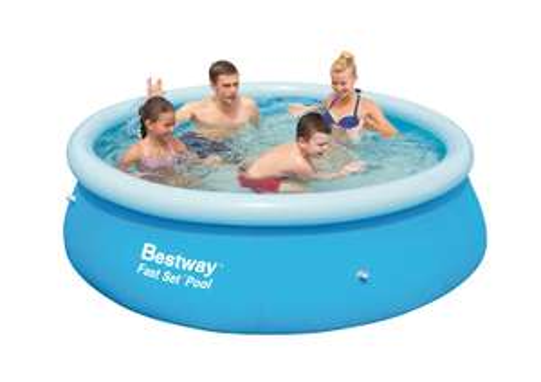 Bestway 8 foot fast set swimming pool £6 @ Sainsburys Instore