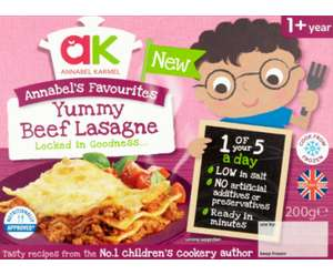 Annable karmel kids meals from 38p @ Asda (Handsworth and Chaucer road Sheffield)