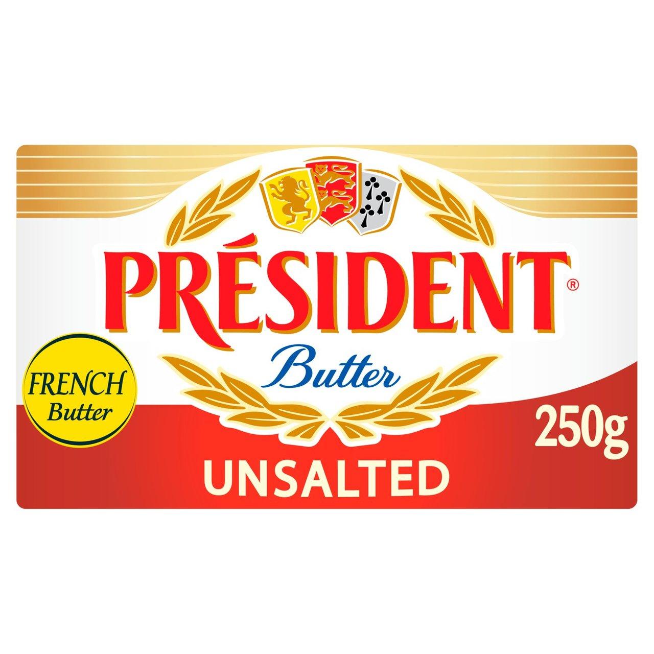 President butter unsalted 250g 87p @ ASDA (Kingswood Hull)