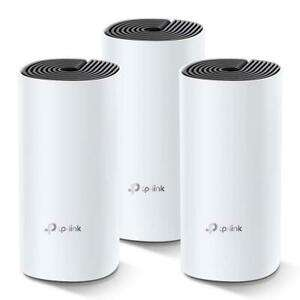 TP-Link Deco M4 AC1200 Deco Whole Home Mesh Wi-Fi System UK Pack of 3 (Refurb) £107.99 @ tp link eBay
