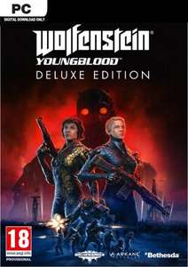 Wolfenstein: Youngblood Deluxe Edition PC (EMEA) for £11.99 @ CDKEYS
