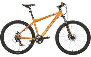 "Carrera Vengeance Mens Mountain Bike MTB Bicycle Alloy Frame 24 Gears Orange 22"" Frame - £216 delivered with code at Halfords Ebay"