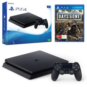 Sony PlayStation 4 500GB + Days Gone OR Marvel's Spider-Man OR Crash Team Racing for £206.10 from eBay Curry's using code