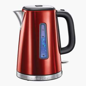 Russell Hobbs Luna Quiet Boil kettle (red) £15 at Sainsburys instore