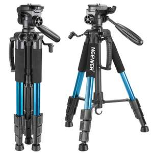 Neewer Portable 142cm Camera Tripod £16.79 For All Sold by GrandTrading UK and Fulfilled by Amazon