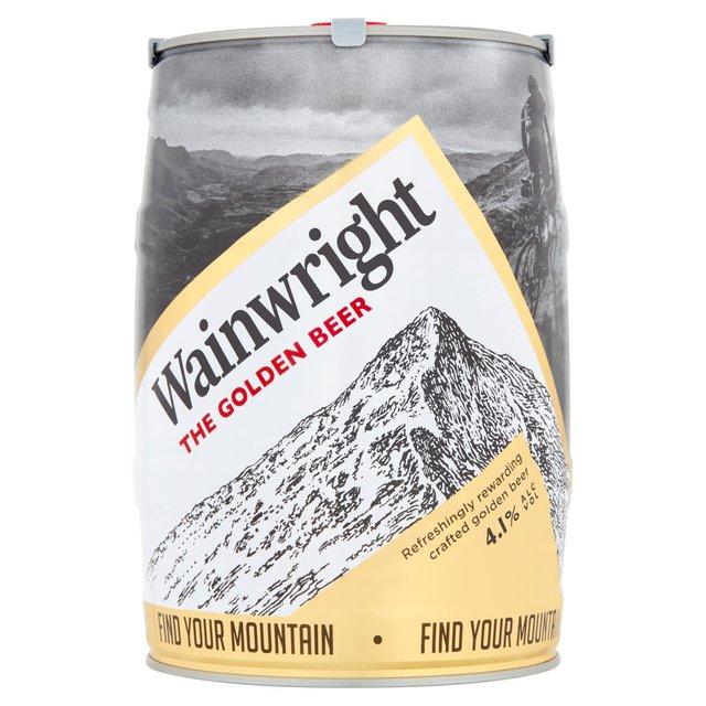 Wainwright's 5L Keg £10 @ Home Bargins