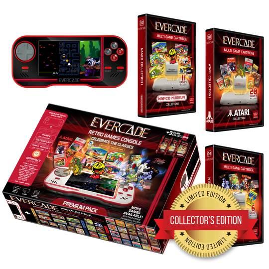 Evercade - Premium (Exclusive Black Collector's Limited Edition) - £79.99 @ Funstock