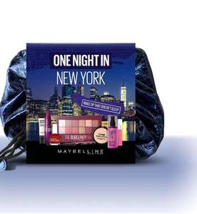 Maybelline One Night In New York Makeup Gift Set £25 at Boots instore