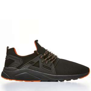 Certified London Mens '8000 Runner' Trainer - Black/Orange £14.99 / £18.94 delivered @ FlashPrice