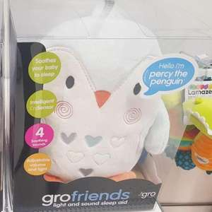 Grofriends Ollie the Owl or Percy the Penguin £6.25 Boots instore