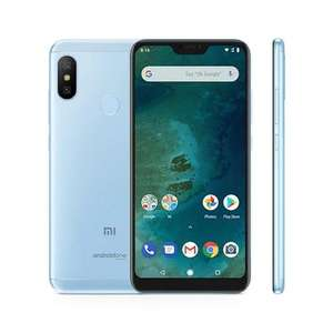 Android One Xiaomi Mi A2 Lite (5.84 inch) 32GB 12MP Smartphone Blue & Gold £108.24 Delivered @ CCL Computers