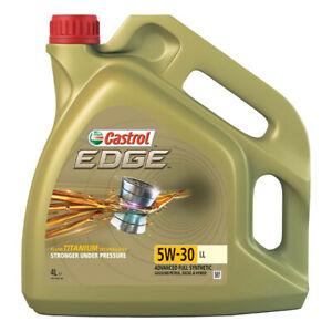 Castrol EDGE Longlife 5W-30 LL 4 Litres £24.99 @ CarParts4Less / eBay