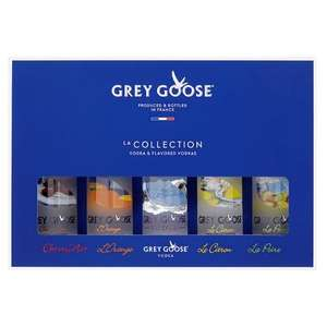 Grey Goose miniatures - £12 instore @ Tesco