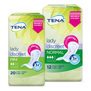 Free TENA Lady Pads