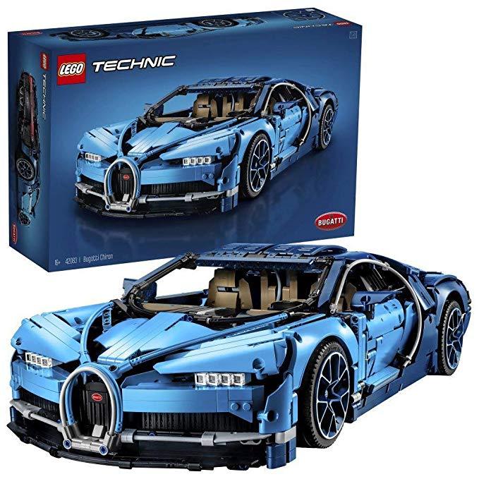 LEGO 42083 Technic Bugatti Chiron Super Sports Car - £200 @ Amazon