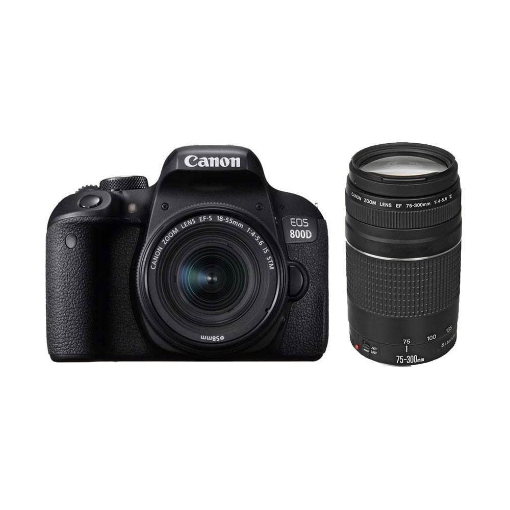 Canon EOS 800D twin lens kit
