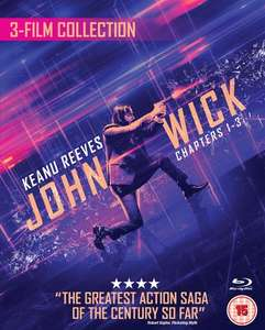 [Blu-Ray] John Wick Trilogy (Box Set) £19.79 with code Delivered @ Zoom