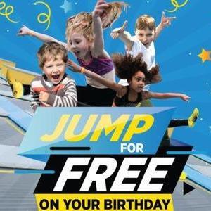 Free Freejump On Your Birthday @ Oxygen Trampoline Parks