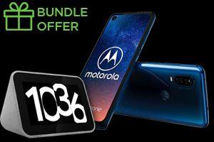 Motorola Moto One Vision 128GB Smartphone + Lenovo Smart Clock £269.99 using code @ Lenovo