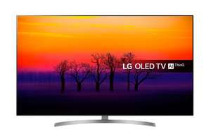 Refurb(1 year warranty) LG OLED55B8S 55 inch OLED 4K Ultra HD HDR Smart TV £799 at Richer Sounds
