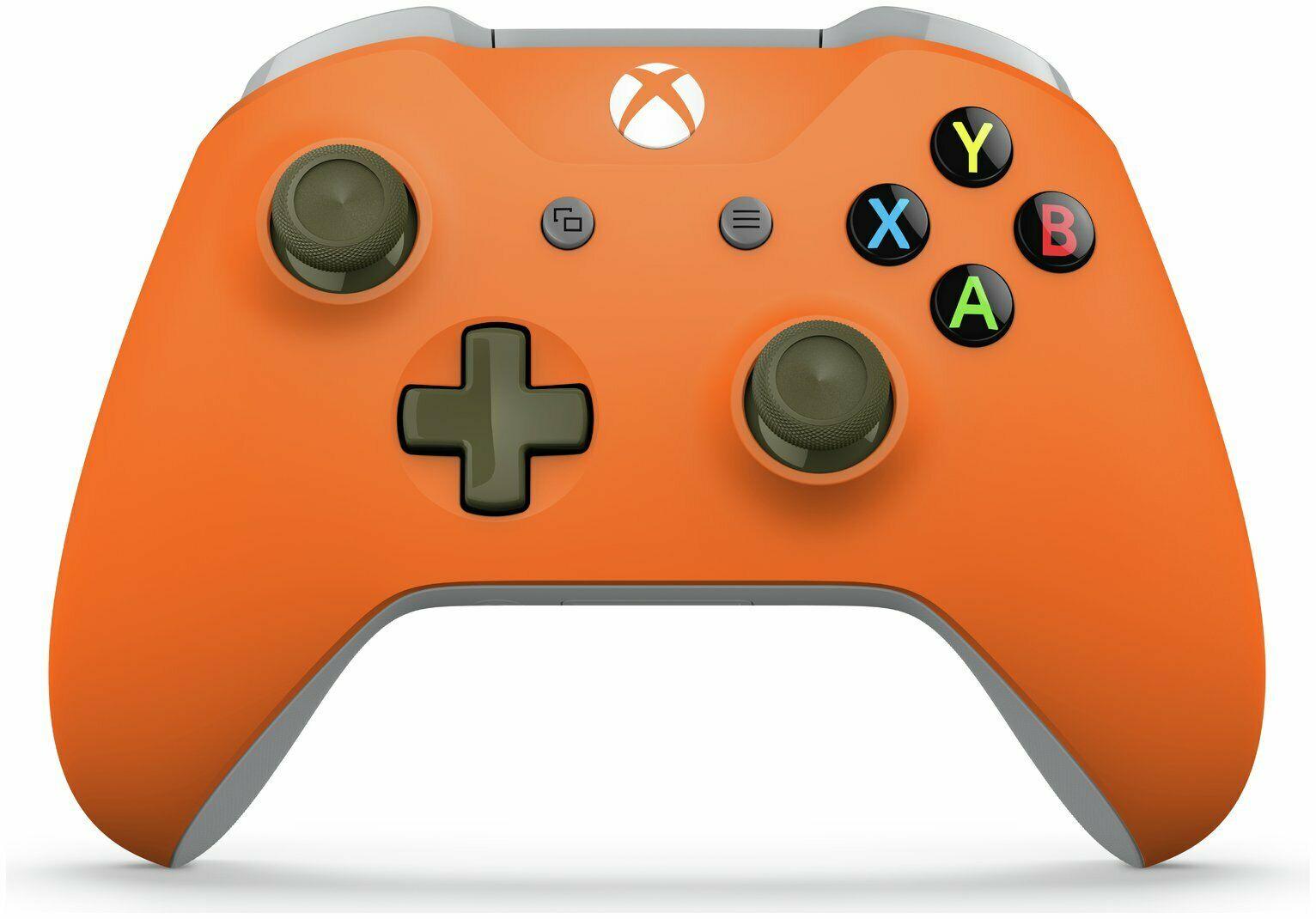 Xbox Wireless Controller - Zest Orange / Military Green £36.99 @ Argos eBay