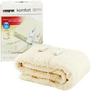 Monogram Komfort Dual Control Heated Mattress Cover - Double / King for £12.99 delivered @ Argos eBay