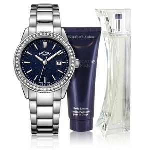 Rotary Ladies' Blue Aventerine Effect Watch & Elizabeth Arden Perfume Set for £24.99 delivered @ Argos eBay (+More Rotary watches in OP)