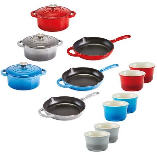 Pre-Order Cast Iron Cookware EG: Casserole Dish 20cm £19.99 / Skillet 24.9cm £14.99  Instore / Online @ Aldi - Free Delivery over £20