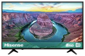 Hisense H43AE6100UK 43 Inch 4K Ultra HD HDR Freeview Play Smart TV £220.49 with code + 2 Year guarantee @ Argos eBay