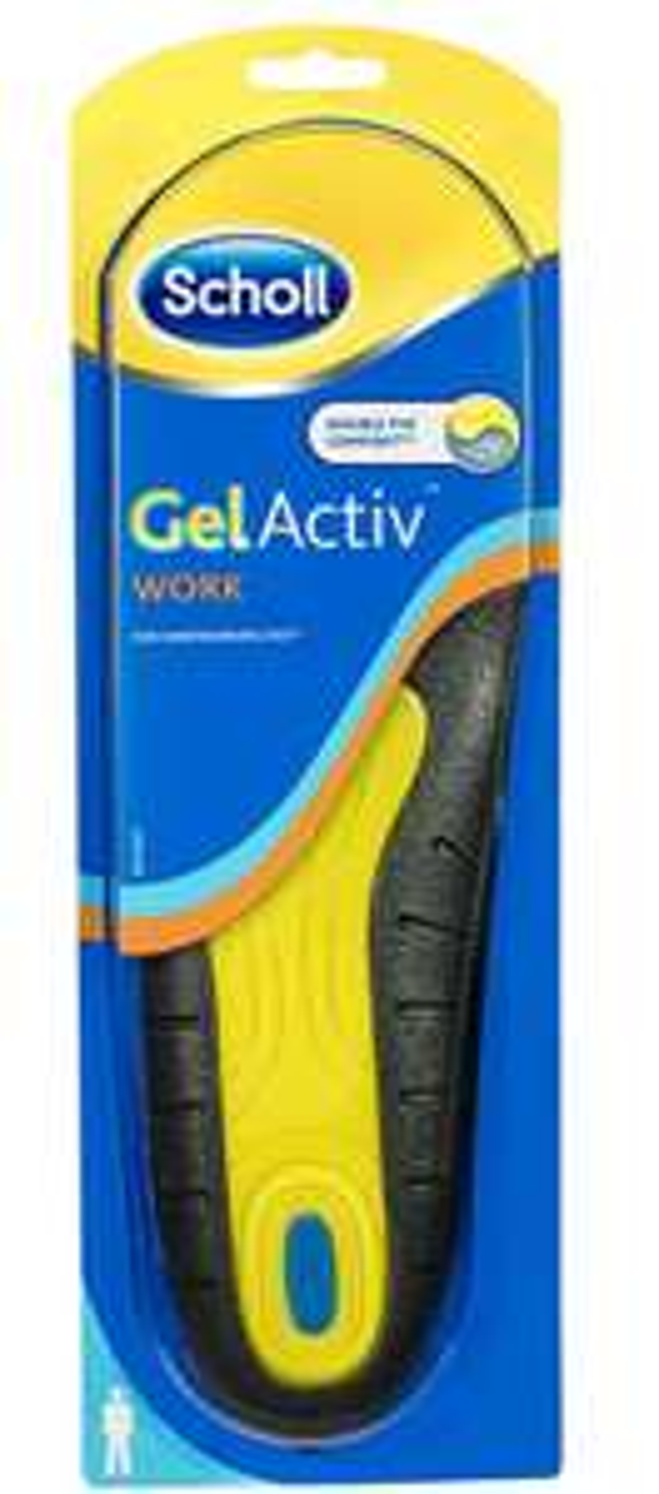 Scholl Gel Mens Insoles Pair UK 7-12 £6.25 (£5.09 with S&S) @ Amazon
