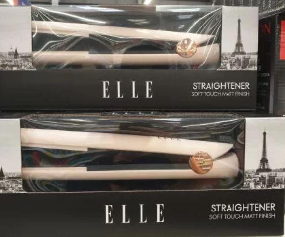 Elle Hair Straighteners £9.99 at B&M Mansfield