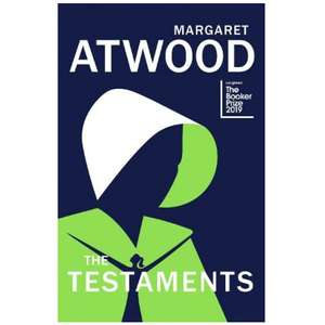 The Testaments by Margaret Atwood (sequel to The Handmaids Tale) - New release hardback - £10 WH Smith Free Click & Collect