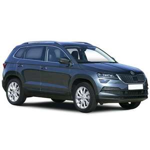 Skoda Karoq Estate 1.0 TSI SE Technology 5dr (Lease deal) - Initial £990.16 + 23 x £163.36 at What Car? Leasing